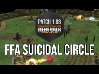 FFA 4 players on Suicidal sirce. Funny game :D