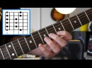 Fastest way to nail the pentatonic scale shapes 1 to 5