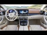 CES 2016  Mercedes-Benz E-Klasse (E-Class) 2016  Saloon Review #1  Обзор Салона #1 HD