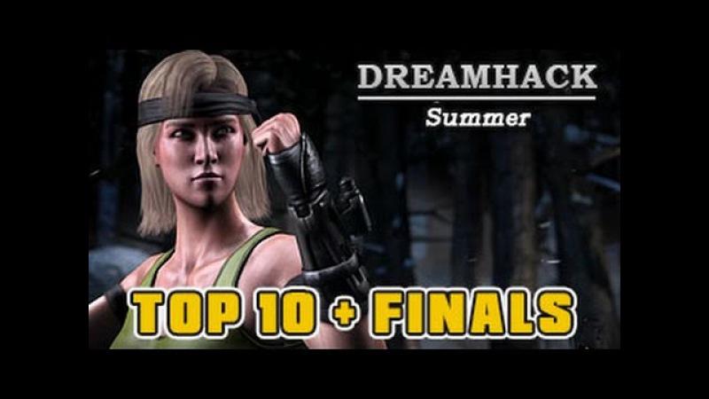 MKXL | Dreamhack Summer | International Cup | Top 10 - Finals Part 1 (Madzin, Nivek more)