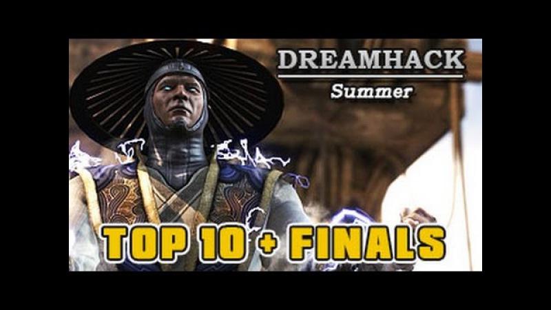 MKXL | Dreamhack Summer | International Cup | Top 10 - Finals Part 2 (Madzin, Tekken Master more)
