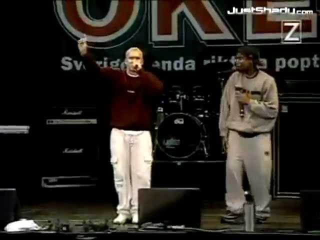 Eminem - My Name Is (Live In Stockholm) Sweden 1999 (Rare Footage) Unreleased