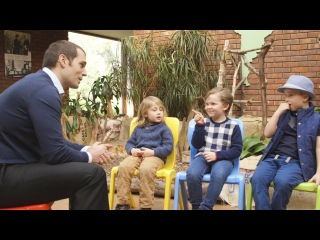 Henry Cavill Asks Kids: Batman or Superman? // Omaze
