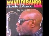 45 rpm ABELE DANCE Manu Dibango