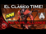 El Clàsico Time! Na`Vi vs. Alliance Game 1