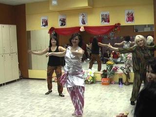 Клубный танец коллектива
