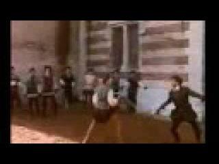 Графиня де Монсоро - Бюсси гоняет анжуйских ополченцев