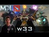 Dota 2 - Secret w33 Invoker 17 Kills vs LGD - MDL Winter 2015