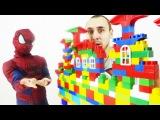 Папа Роб и Ярик! Человек Паук против Локи. Как Супергерой спас мир! Видео для детей.