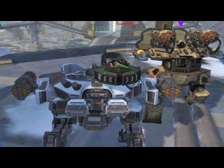 War Robots [WR] Gameplay With ツ Lone Wolf - 2 VS 6