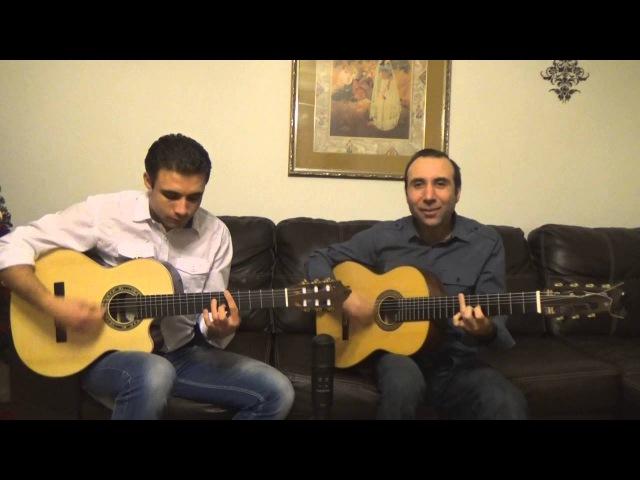 VS Guitar Duo А я милого узнаю по походке А Димитриевич