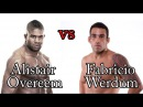 Alistair Overeem vs Fabricio Werdum 2nd Fight