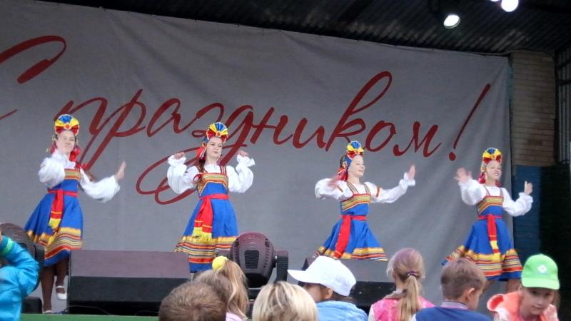 День города Щёлково 2016 концерт Образцовый хореографический коллектив Алёнка танец Чеботуха