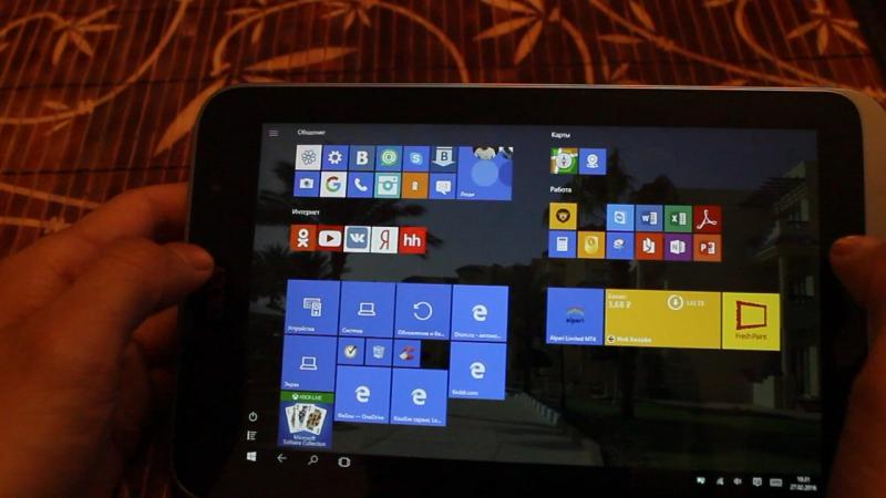 Обзор планшета Acer Iconia W4 на Windows 10