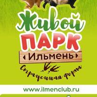 Логотип Страусиная ферма парк живой природы Ильмень