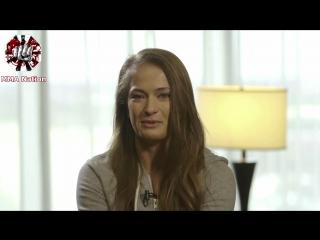 Знакомство с Каролиной Ковалькевич (рус. озвучка от MMA Nation)