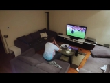 Жена жестко разыграла мужа, который захотел досмотреть матч