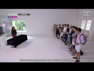 3 вырезка Korea's Next Top Model S5: Guys & Girls - Ep.6 (140920)