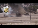 Сирия Попадание в танк, расстрел танкистов 18