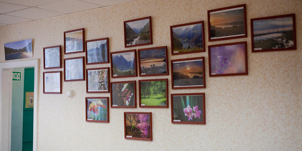 Фотовыставка в библиотеке №12