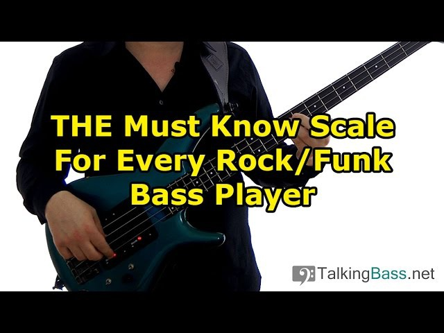 THE Must Know Scale For Every Rock/Funk Bass Player