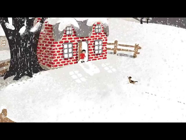 Snow by Walter de la Mare animation
