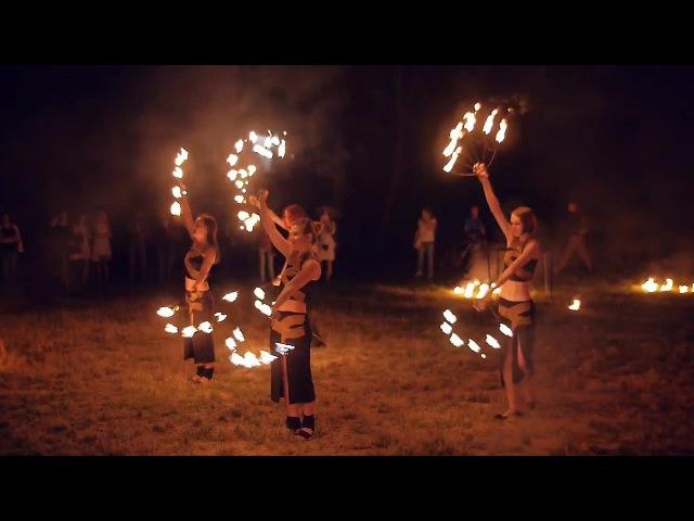 Івана Купала 2016 в Ужгороді з фаєр шоу від FIRE LIFE (вогняне шоу)