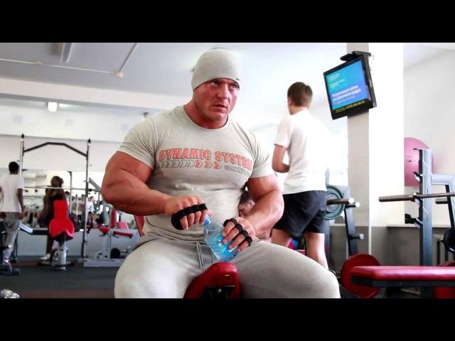 Адам Абакаров Тренировка груди