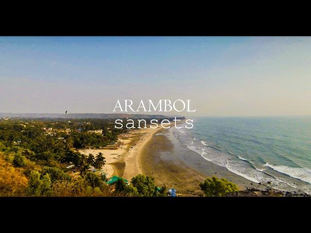 Арамбольские закаты. Барабаны. Гоа Индия | Goa Arambol Sunset Drums.
