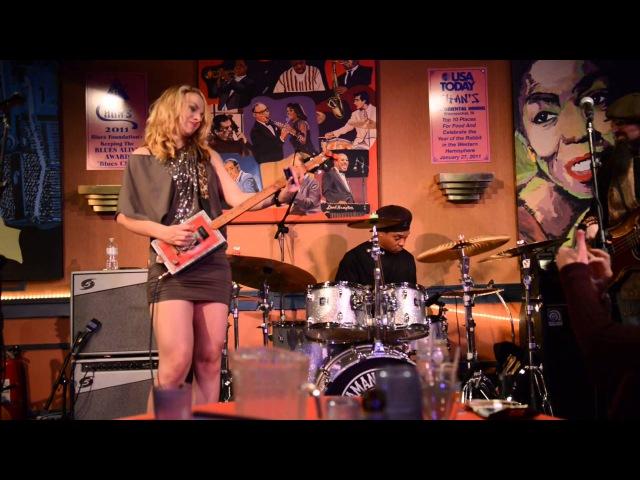 Samantha Fish -- Shake Em on Down -- up close at Chans