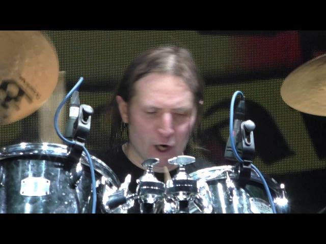Алексей Быков (Монгол Шуудан) - Соло на барабанах в песне
