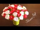 Цветы из Лент / Из Лент Своими Руками / Атласные Цветы / Канзаши Мастер Класс / Satin Flowers