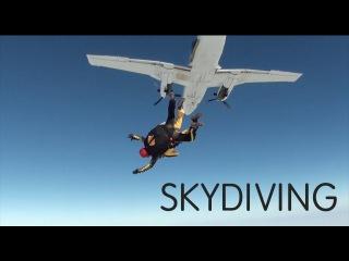 SKYDIVING! - Maisie Williams