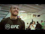 Conor McGregor: after a light workout at Dos Agnes I will rematch with Aldo interview