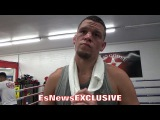 NATE DIAZ EXPLAINS WHY THERE'S NO REASON ANDRE WARD