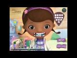 NEW мультик онлайн для девочек—Доктор Плюшева на осмотре у стоматолога—Игры для детей