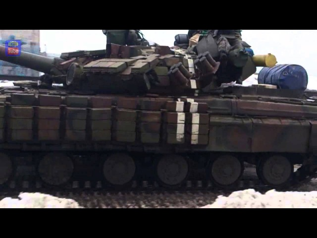 Танки ВСУ идут в бой/UAF Tanks go to the battle