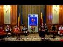 Just Walk Away - Daria Stefan 11yo - Live Parlamentul Romaniei