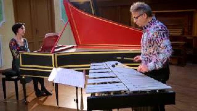 Bach on Marimba, Vibraphone and Harpiscord Giulio COSTANZO e Andreina DI GIROLAMO