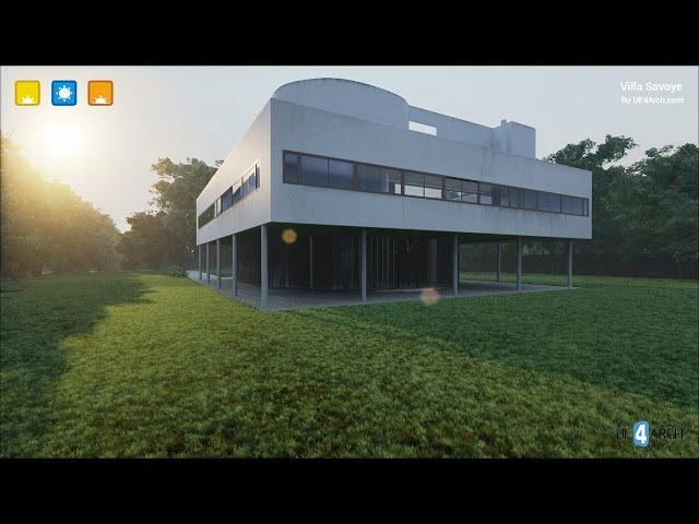 UE4Arch.com - Villa Savoye