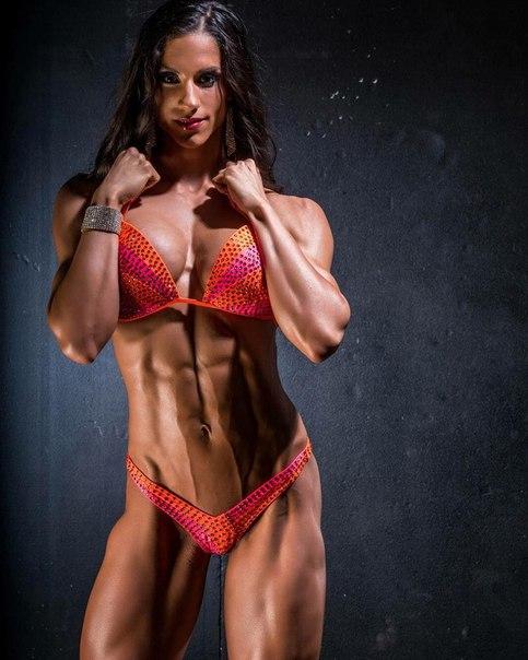 muscular girl