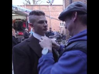 Peaky Blinders Behind The Scenes Series 3 Episode 1 Harry Kirton, Jordan Bolger, Joe Cole