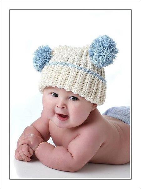 Вязание для новорожденных шапочки для мальчиков