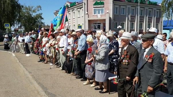 В День памяти и скорби в Чистополе прошел митинг