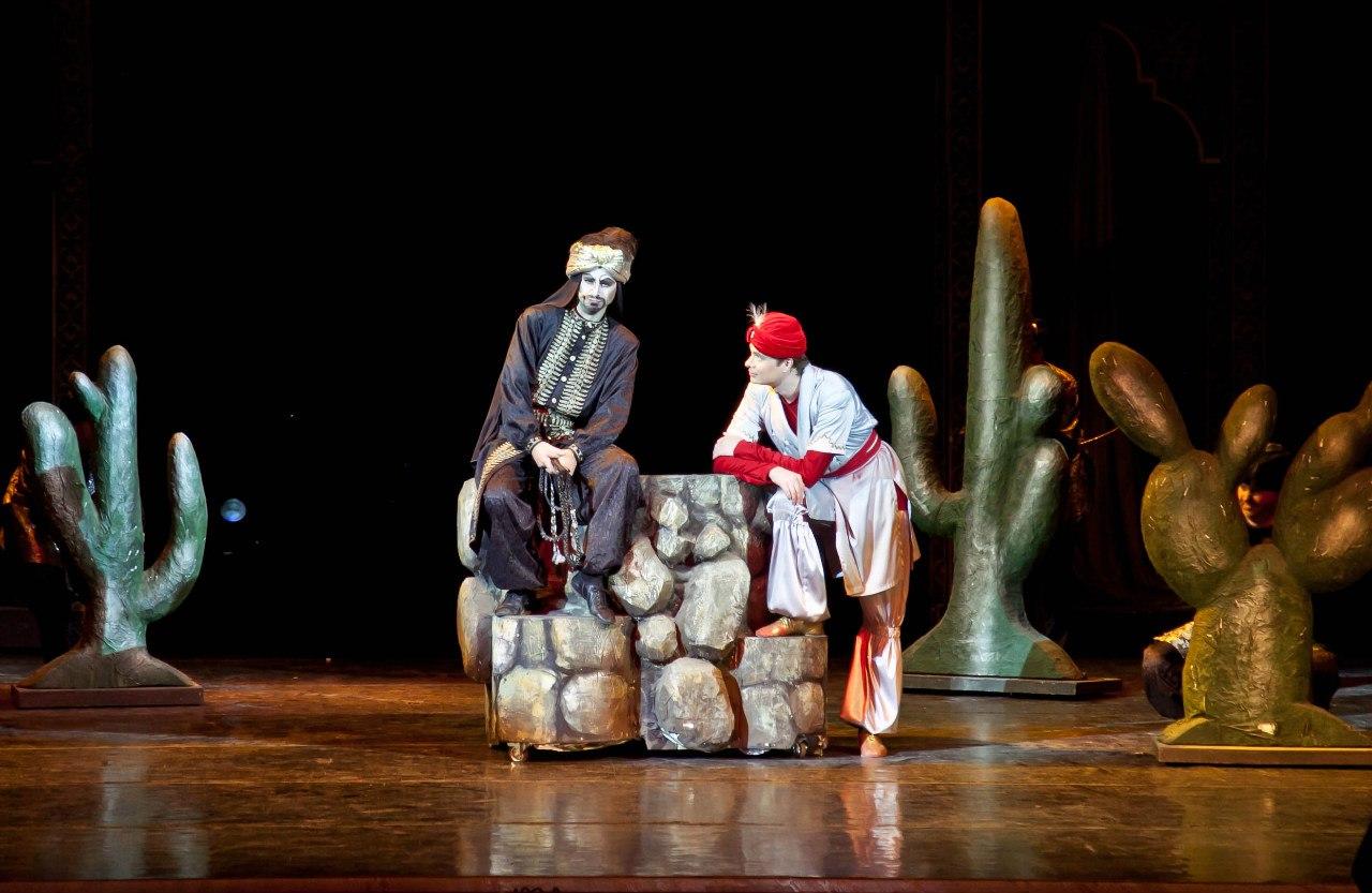 театр музкомедии алладин