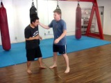 Donnie B. Old Style Muay Thai Clinch