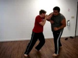 Donnie B. - Old Style Muay Thai Elbow Defense Techniques