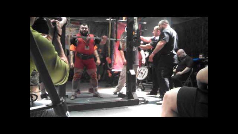 Ярымбаш Евгений, Arnold XPC 2014, 560 кг.