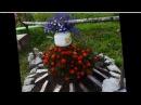 Сад и Огород Поделки для украшения сада своими руками фото