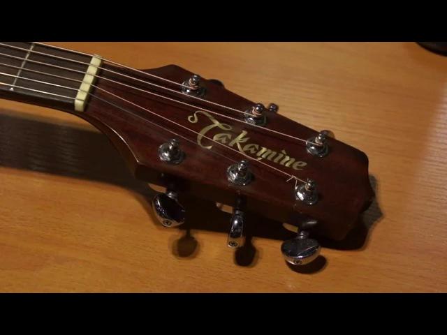 Порвалась струна на гитаре, как починить (связать струну)